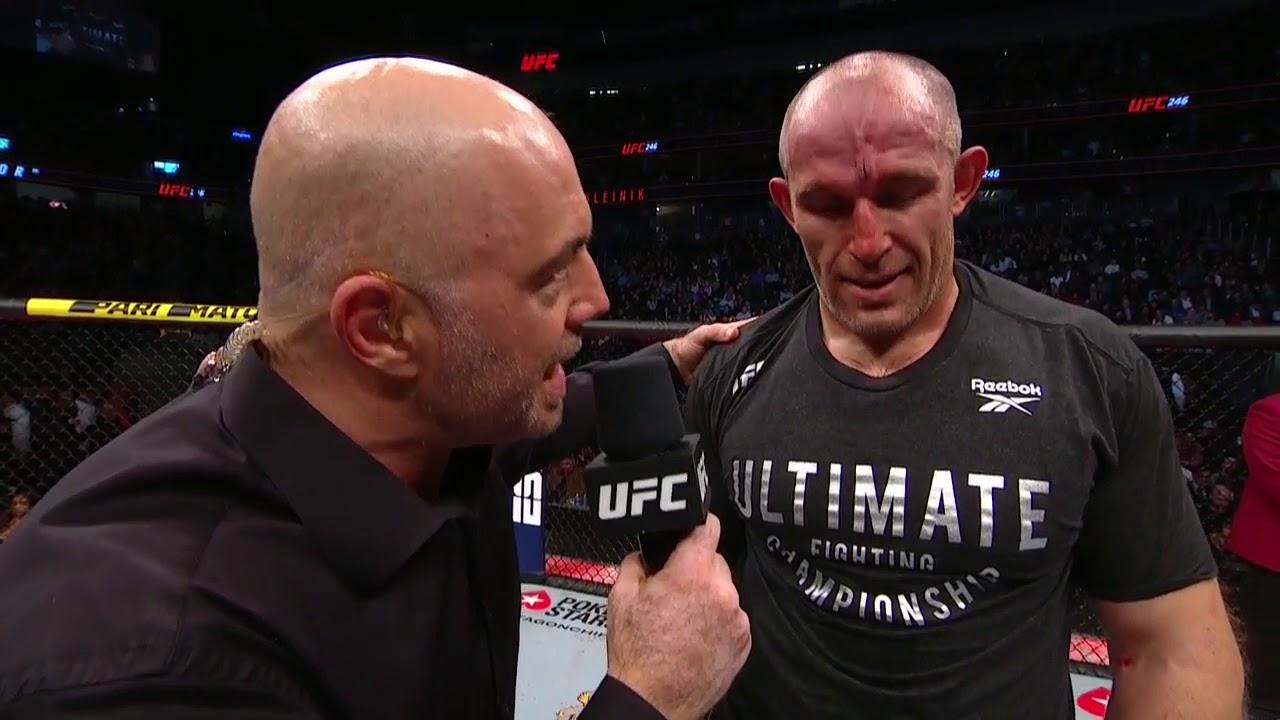 Слова после боя Алексея Олейника (UFC 246)