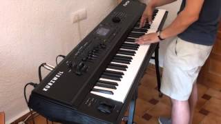 Kurzweil Forte - Classic Hammond B3 Demo - Blues Song