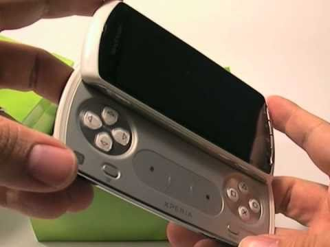 Unboxing Xperia PLAY