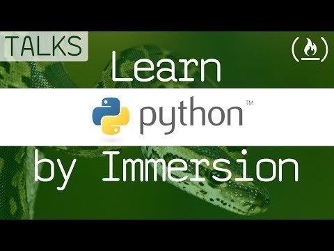 Learn Python by Immersion