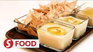 Retro Recipe: Hummus & baba ghanoush with toasted flatbread