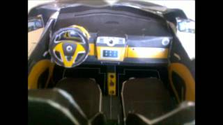 Papercraft Car 3D Model Smart Cabrio