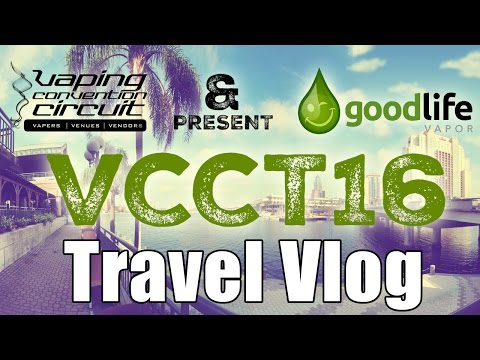 Daily Vape TV - VCC Tampa Travel Vlog