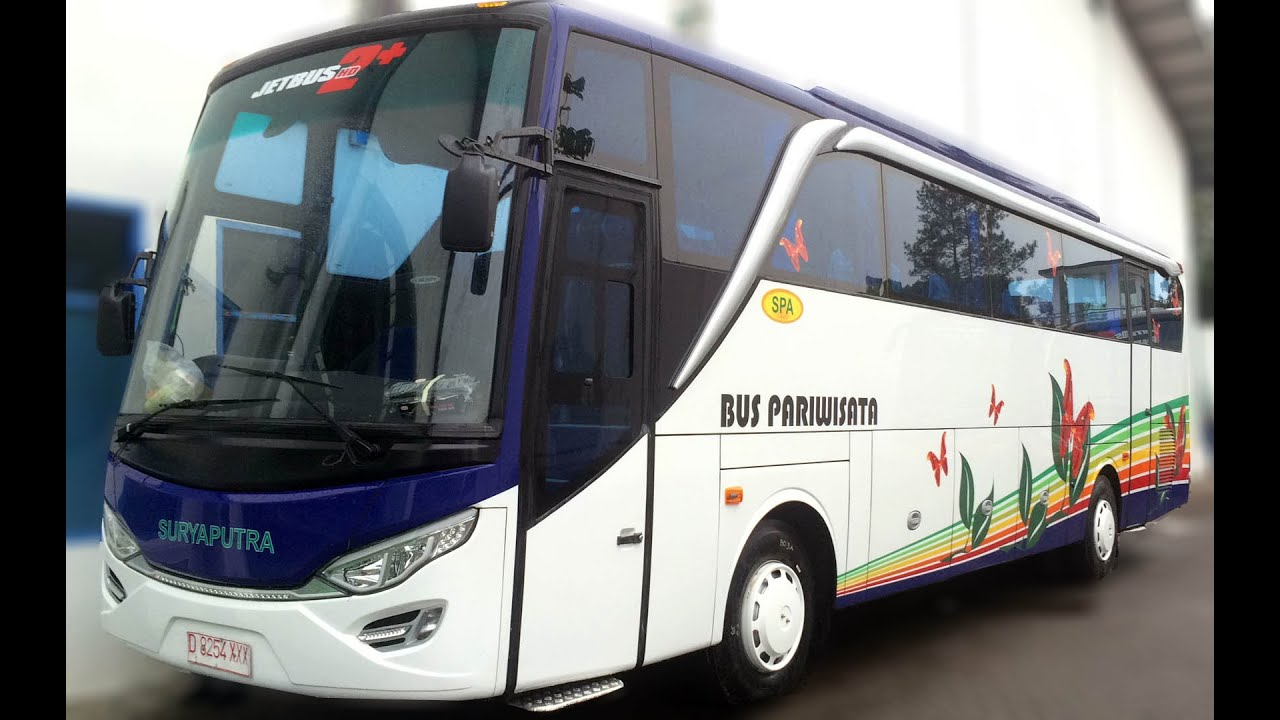 Hasil gambar untuk bus pariwisata surya putra