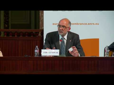 European Remembrance Symposium, Budapest 2016: Andrzej Nowak (closing lecture)