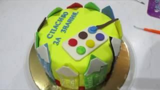 торт на выпускной 4 класса....