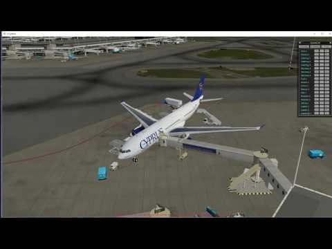 flight  simulator  X-plane 10  party flight from cyprus to m
