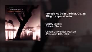 Prelude No 24 in D Minor, Op. 28: Allegro appassionato