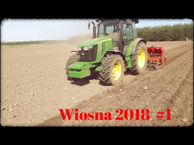 Wiosna 2018 #1 SIEW URSUS JOHN DEERE AMAZONE  AGRO MASZ :D