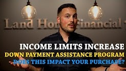 NEW Grant Programs PLUS Down Payment Assistance Income Limits Increase