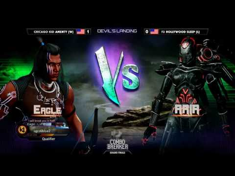 Grand Final ▷ Combo Breaker 2018 - Killer Instinct - Amenty (Eagle) vs Sleep (Aria)