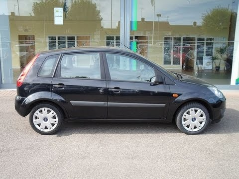 ford fiesta style climate 1 4 2006 road test drive the uk car reviews youtube. Black Bedroom Furniture Sets. Home Design Ideas