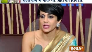 Cricket World Cup 2015: Mandira and Sehwag Speaks on Virat Kohli's Century - India TV