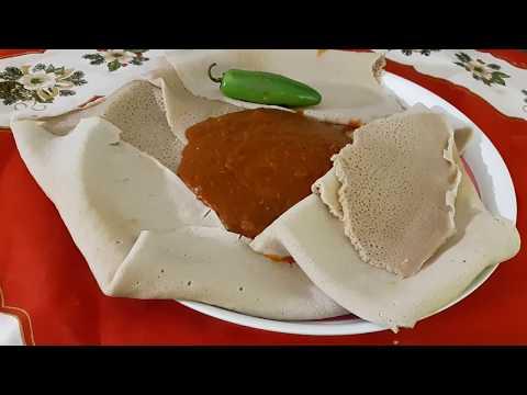 ምጥን ሽሮ ወጥ(Ethiopian food meten shiro wat)