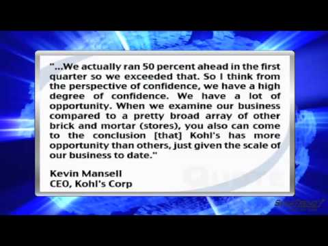 News Update: Kohl's Corp. CEO Takes Questions on its E-Commerce Business