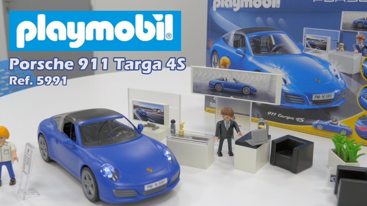 playmobil porsche 911 targa 4s 5991 construction en. Black Bedroom Furniture Sets. Home Design Ideas