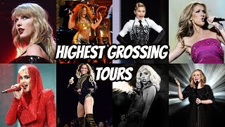 Top 20 Highest Grossing Tours of All Time by Female Singers