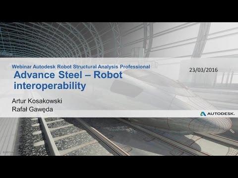 Advance Steel - Robot interoperability