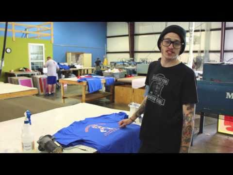 Screen-Printing Quick Tips: How to Clean Accidental Ink Off of Shirts
