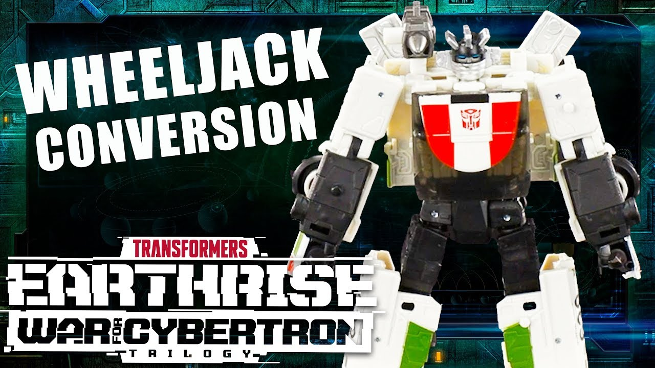 Transformers War for Cybertron: Earthrise - How to Convert Wheeljack Official Video