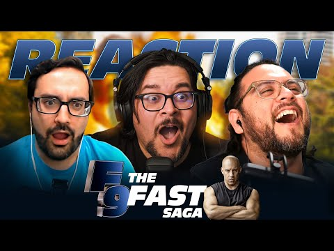 Fast 9 - Official Reaction | The Fast Saga - Heroes Reforged