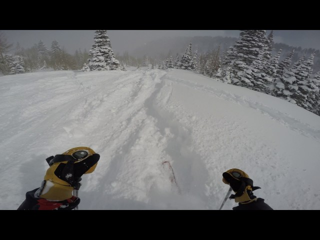 2 Feet of Powder in the Canyons, Park City