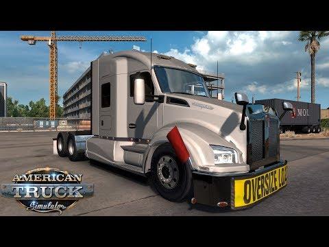 American Truck Simulator Kenworth T880 (Oil Rig Components)