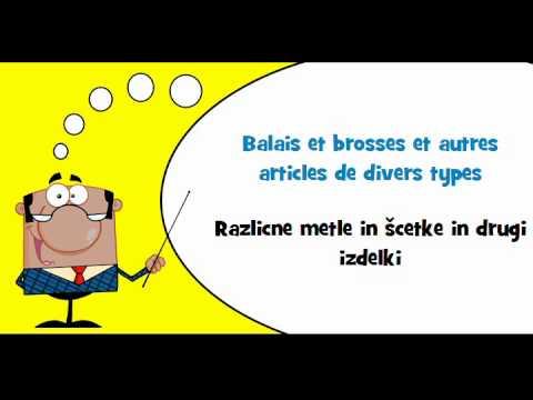 Vocabulaire fran ais slovene th me ustensiles de for Vocabulaire ustensiles de cuisine