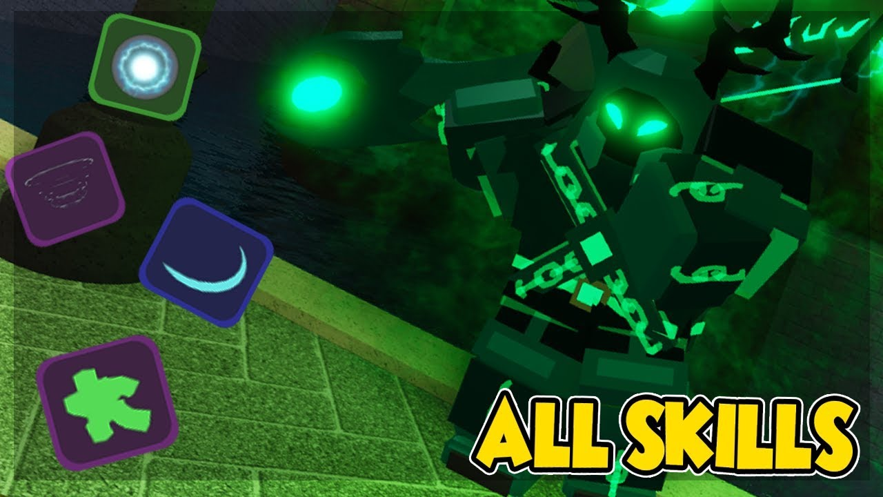 All Skills In New Map The Canals Which Is The Best In Dungeon Quest Roblox Youtube