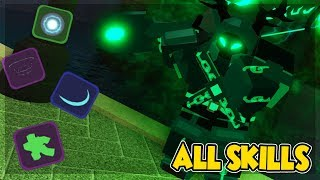ALL SKILLS IN NEW MAP THE CANALS *WHICH IS THE BEST?* IN DUNGEON QUEST ROBLOX