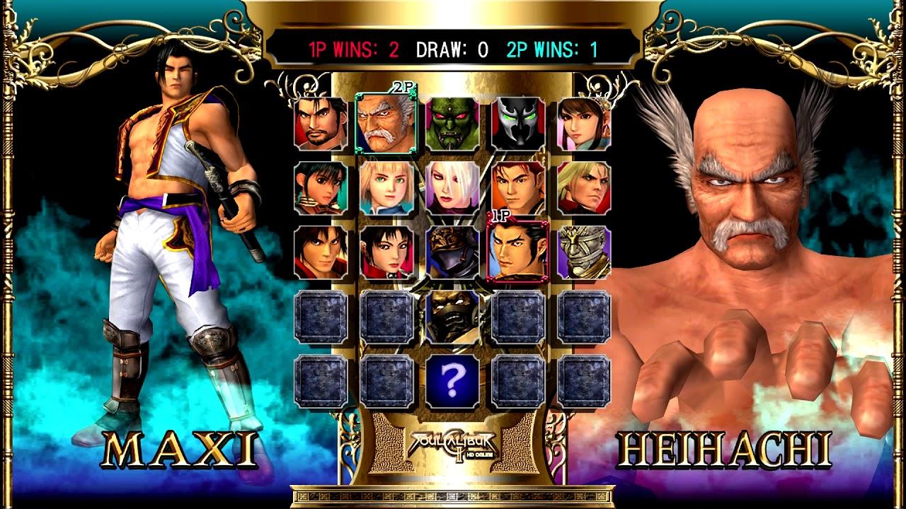 Testing SoulCalibur II HD Online (Xbox 360) on Xbox One X