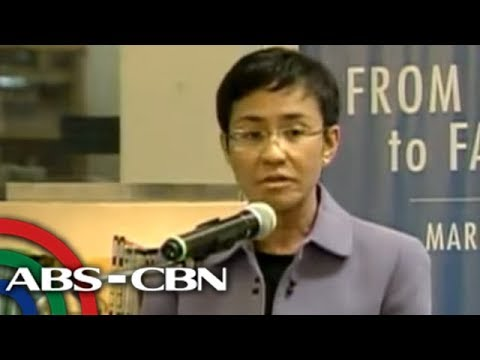 Maria Ressa breaks silence on Ces Drilon kidnapping
