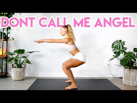Ariana Grande, Miley Cyrus, Lana Del Rey - Don't Call Me Angel (Charlie's Angels) LEG/BOOTY WORKOUT