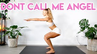 Gambar cover Ariana Grande, Miley Cyrus, Lana Del Rey - Don't Call Me Angel (Charlie's Angels) LEG/BOOTY WORKOUT