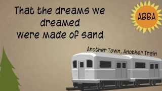 ABBA - Another Town, Another Train - Lyrics