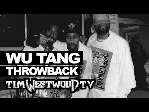 Wu Tang freestyle 1997 FULL LENGTH first time ever released  Westwood Throwback