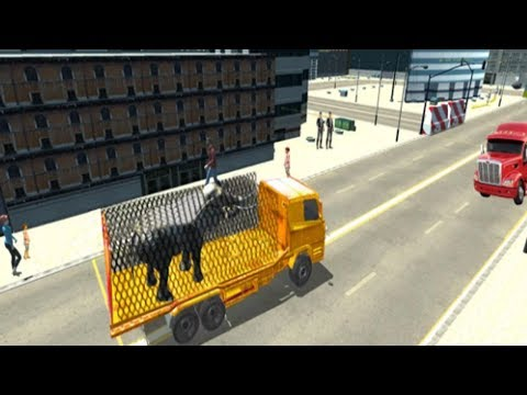 Zoo Animal Transport Truck 3D - Android GamePlay 2017 | Zoo Animal Transport Truck Simulator