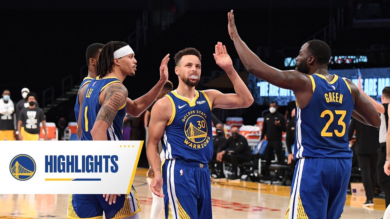 The BEST of the Golden State Warriors 4th Quarter Comeback vs. Lakers - January 18, 2021