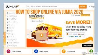 How To Shop Online Via Jumia 2019