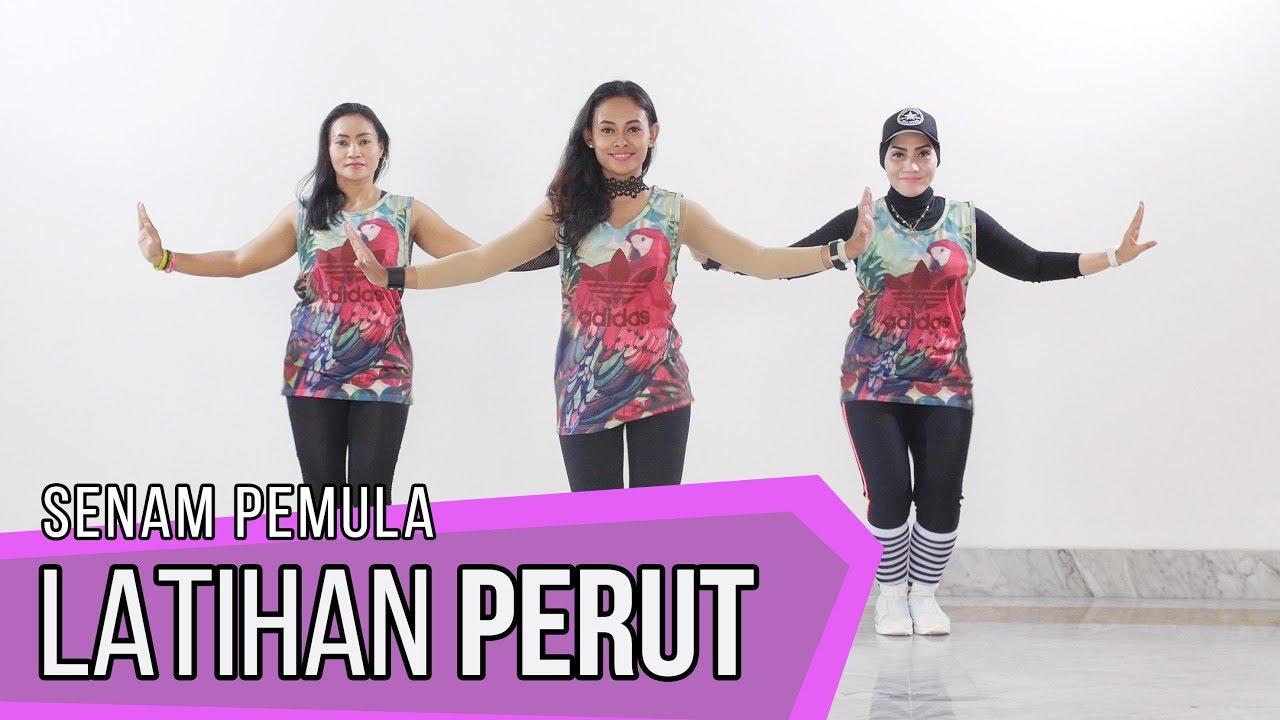 Senam Mengecilkan Perut | Senam Aerobik Dance Workout ...