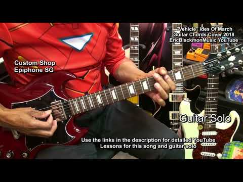 VEHICLE Ides Of March Guitar Chords Play Through Revised + LESSON LINK 2018