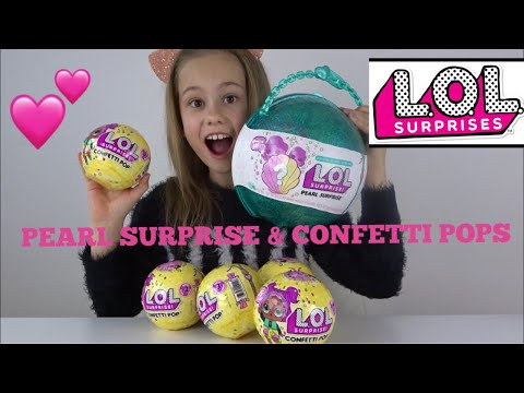 LOL PEARL SURPRISE & CONFETTI POP REVIEW