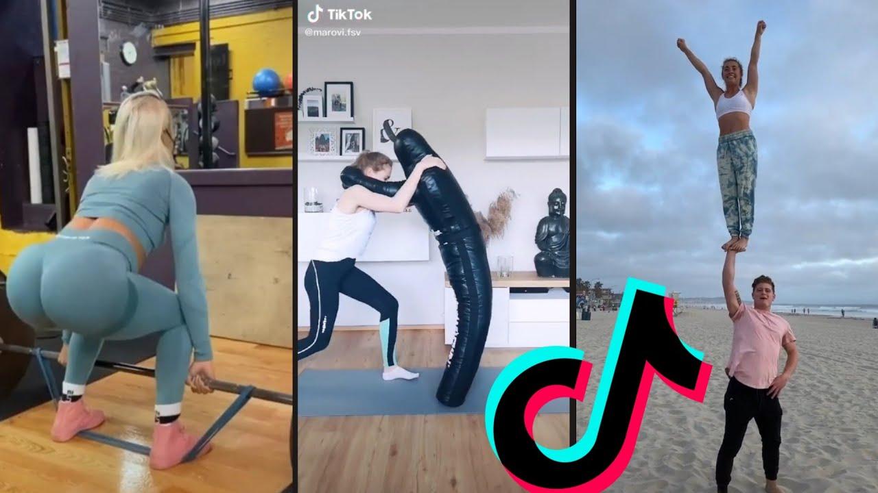 Female Fitness Motivation 🔥Tik Tok Workout Challenge 2020