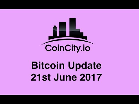 CoinCity Bitcoin Update 21st June 2017