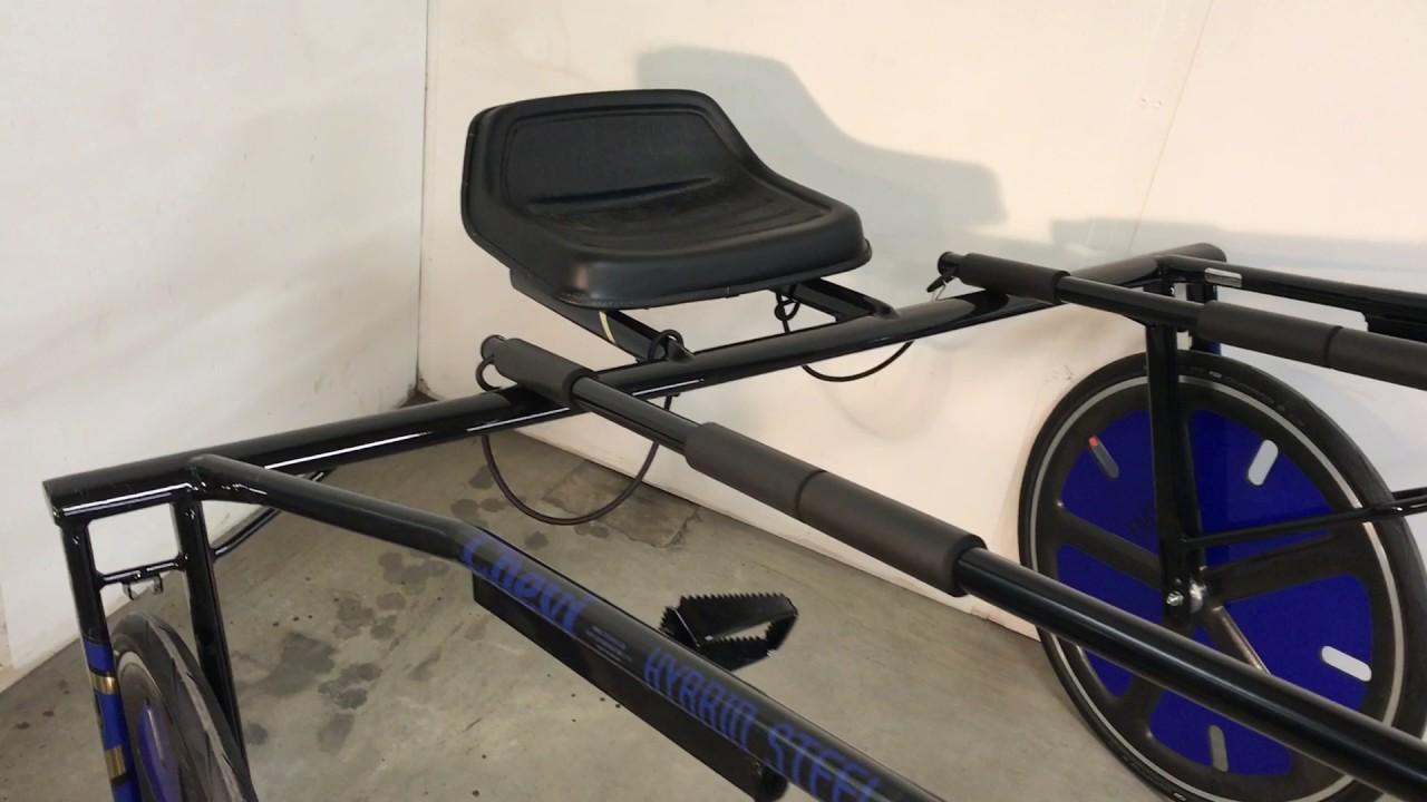 Chevi Hybrid Steel Harness Racing Sulky