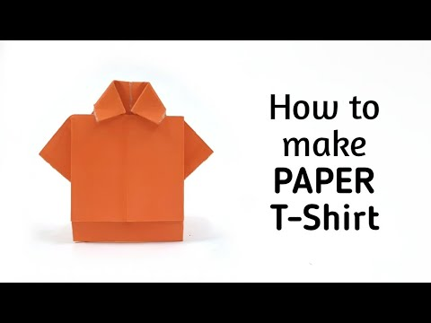 How to make origami paper dress - 1 | Origami / Paper Folding Craft, Videos & Tutorials.