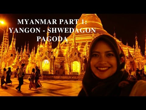 Strolling Around Yangon (Rangoon), Myanmar - Shwedagon Pagoda