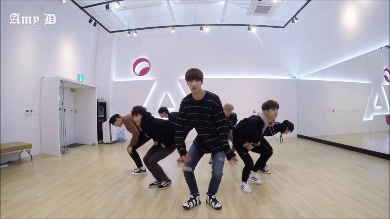 Amrotic Com victon ' i'm fine' mirrored dance practice