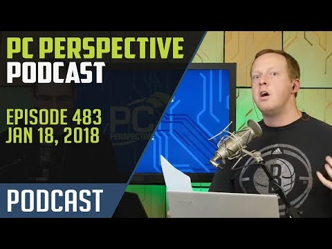 Podcast #483 - News from CES 2018! Kaby Lake-G, Zen+ and more!