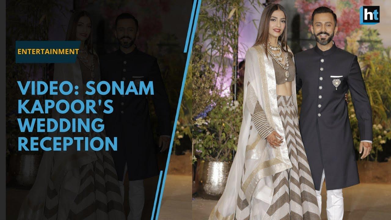 Sonam Kapoors Wedding Reception Srk Kareena Kapoor Rekha Attend